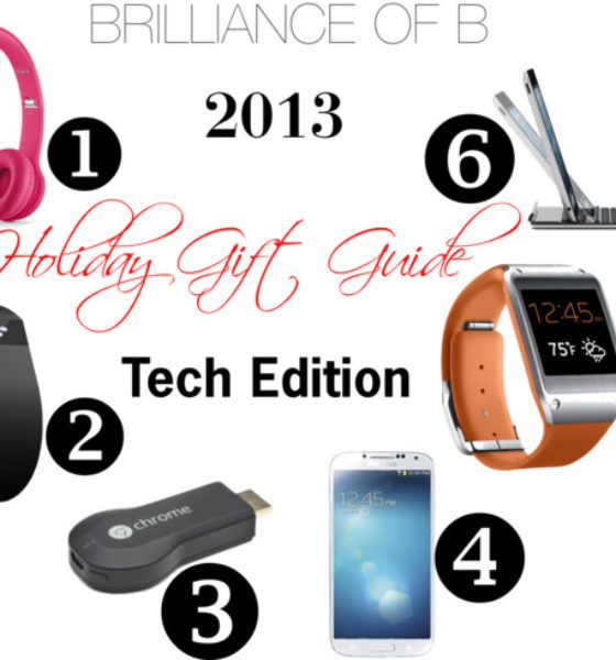 2013 Holiday Guift Guide: #Tech Edition