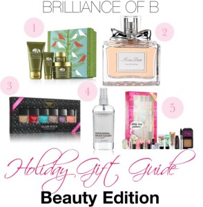 2013 Beauty Holiday Gift Guide