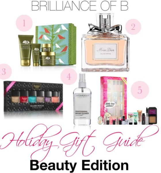 2013 Holiday Gift Guide: Beauty Edition