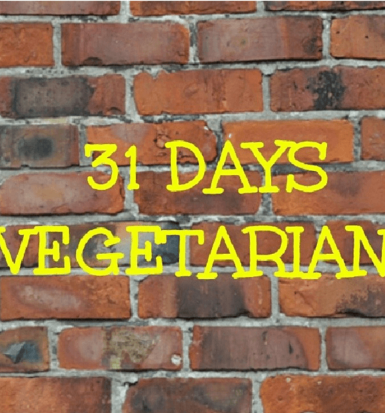 New Year Challenge: 31 Days Vegetarian