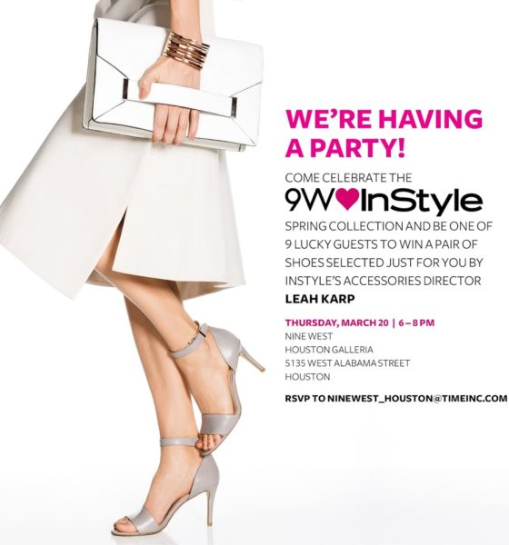 @NineWest + @Instyle in Houston Galleria: 2014 Spring Collection
