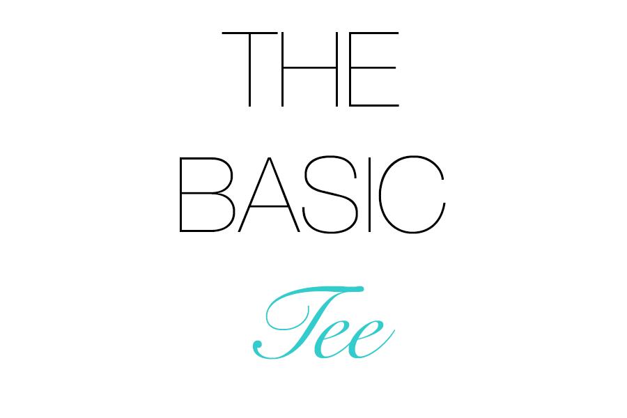 The basic tee shirt