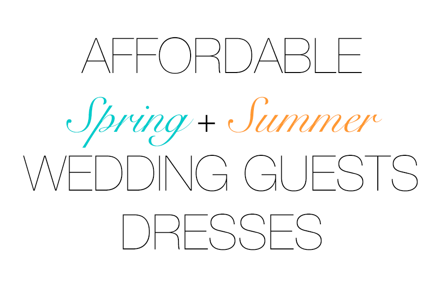 Affordable Wedding Guests Dresses