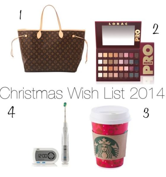 Christmas Wishlist 2014