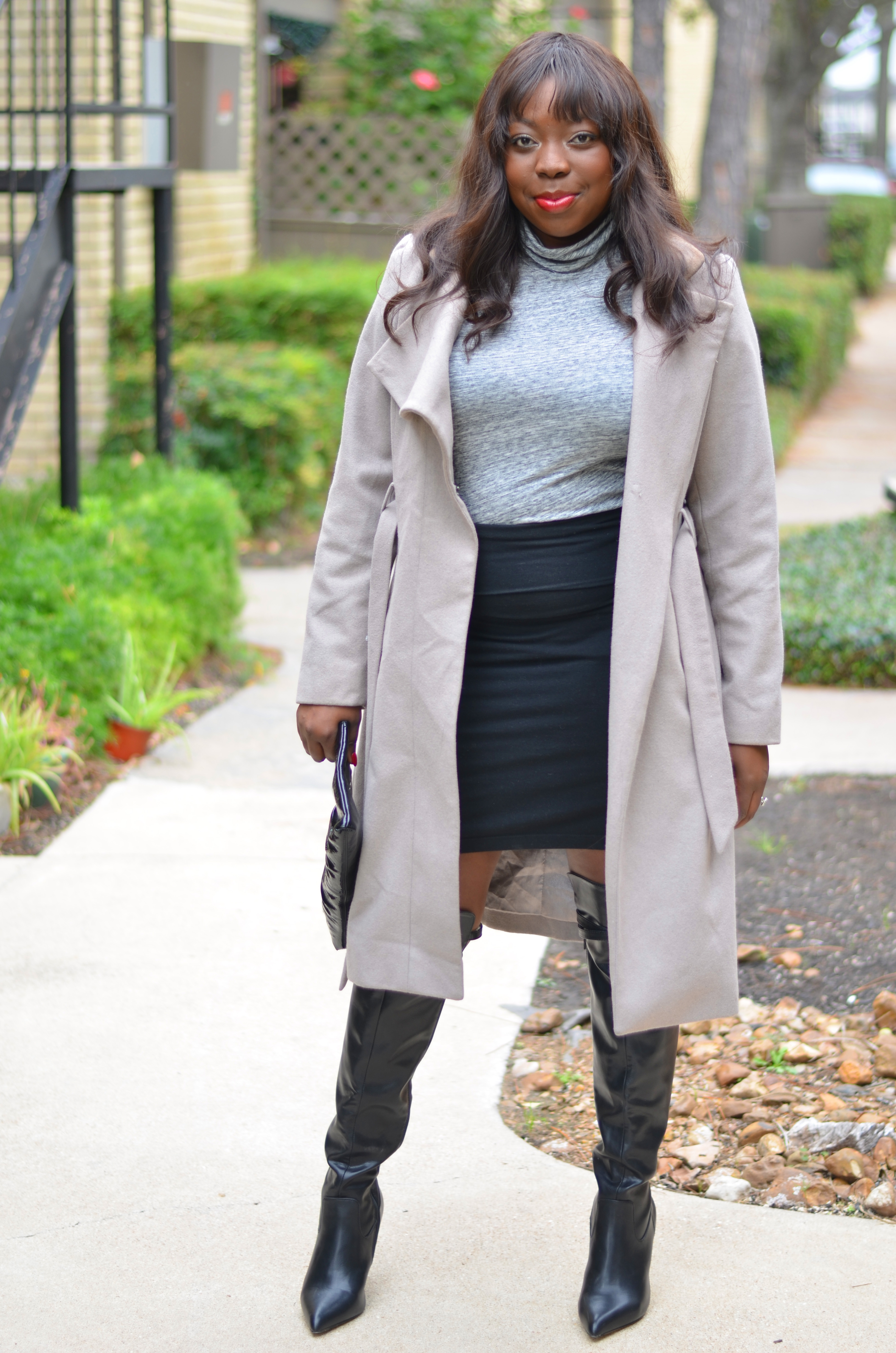 Trench coat and neutrals