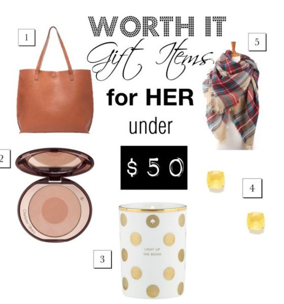 Worth-it Gifts for Her Under $50