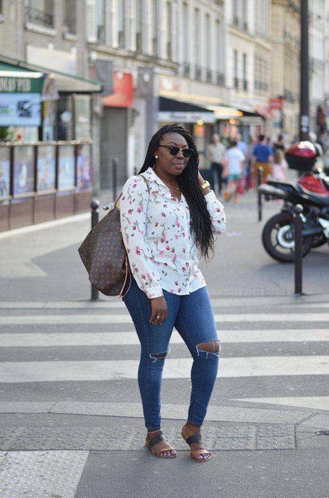 Paris Street Blogger Style