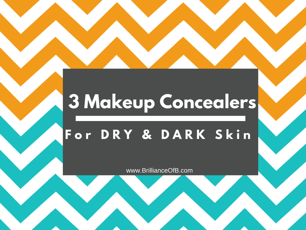 3 Concealers for Dark skin