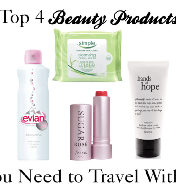 4 Beauty Items You Need To Always Travel With