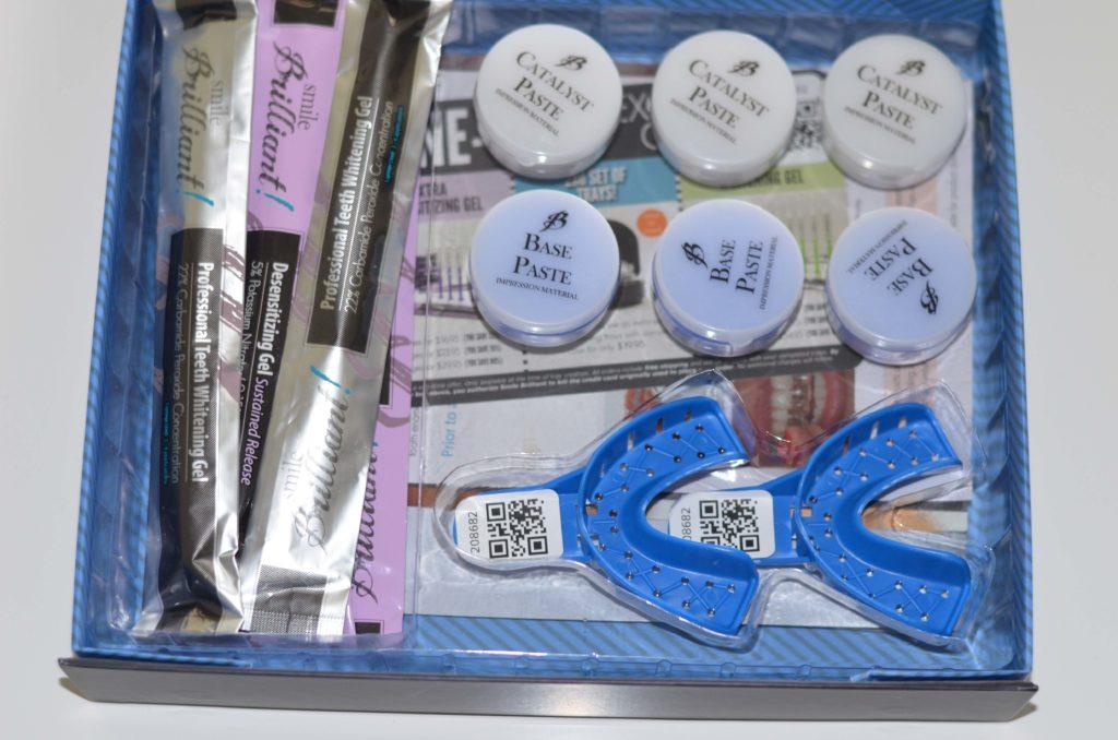 Smile Brilliant Kit Materials