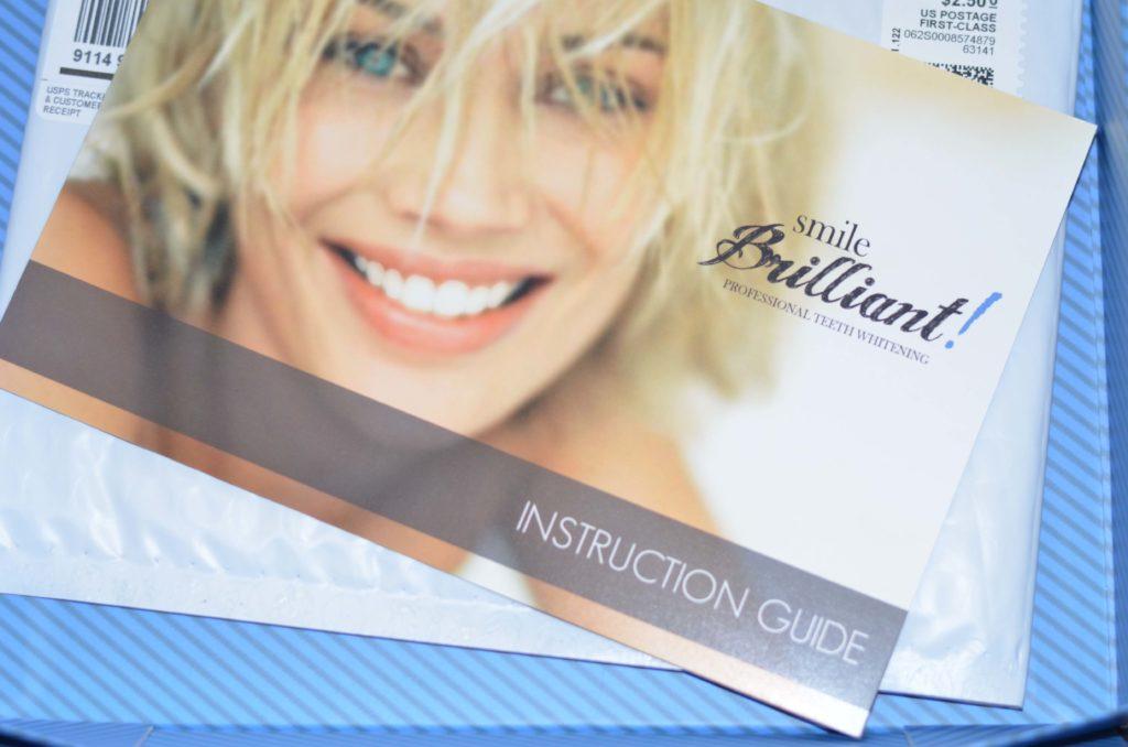 Smile Brilliant Instruction Guide