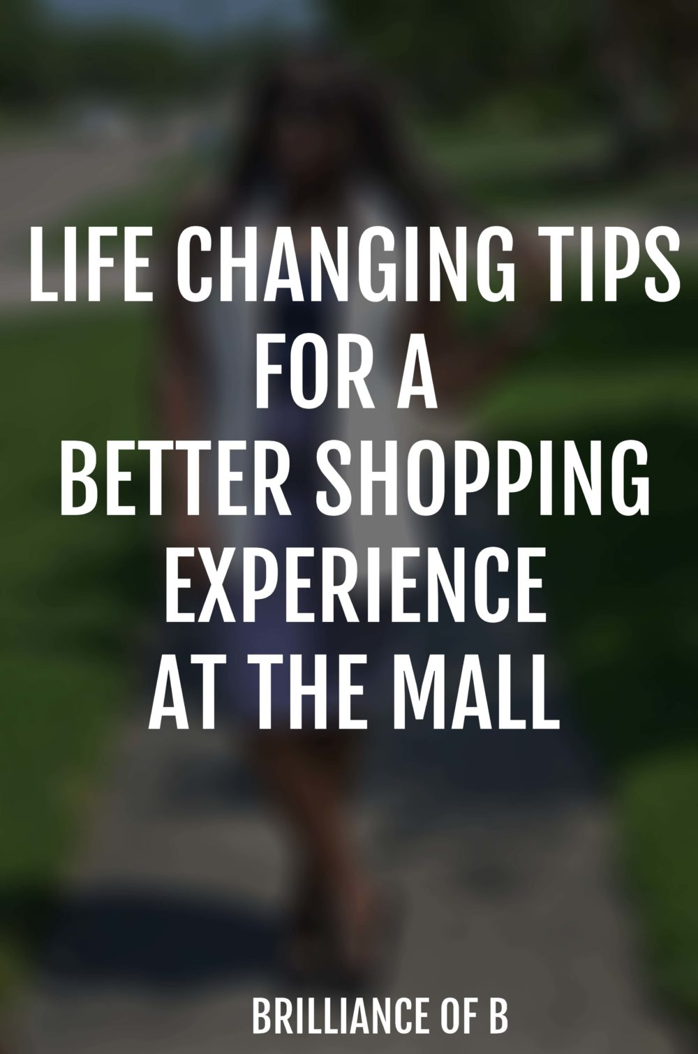 Tips for shopping at the mall