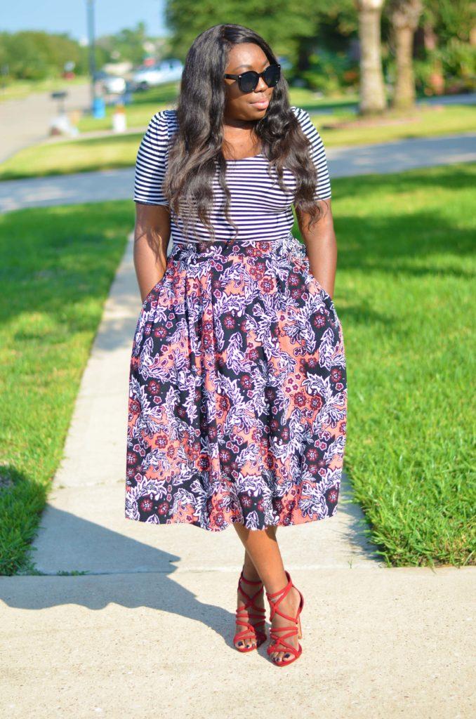 Full Skirt With Pockets