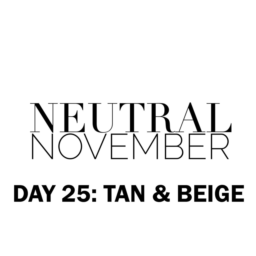 neutralNovemberDay25