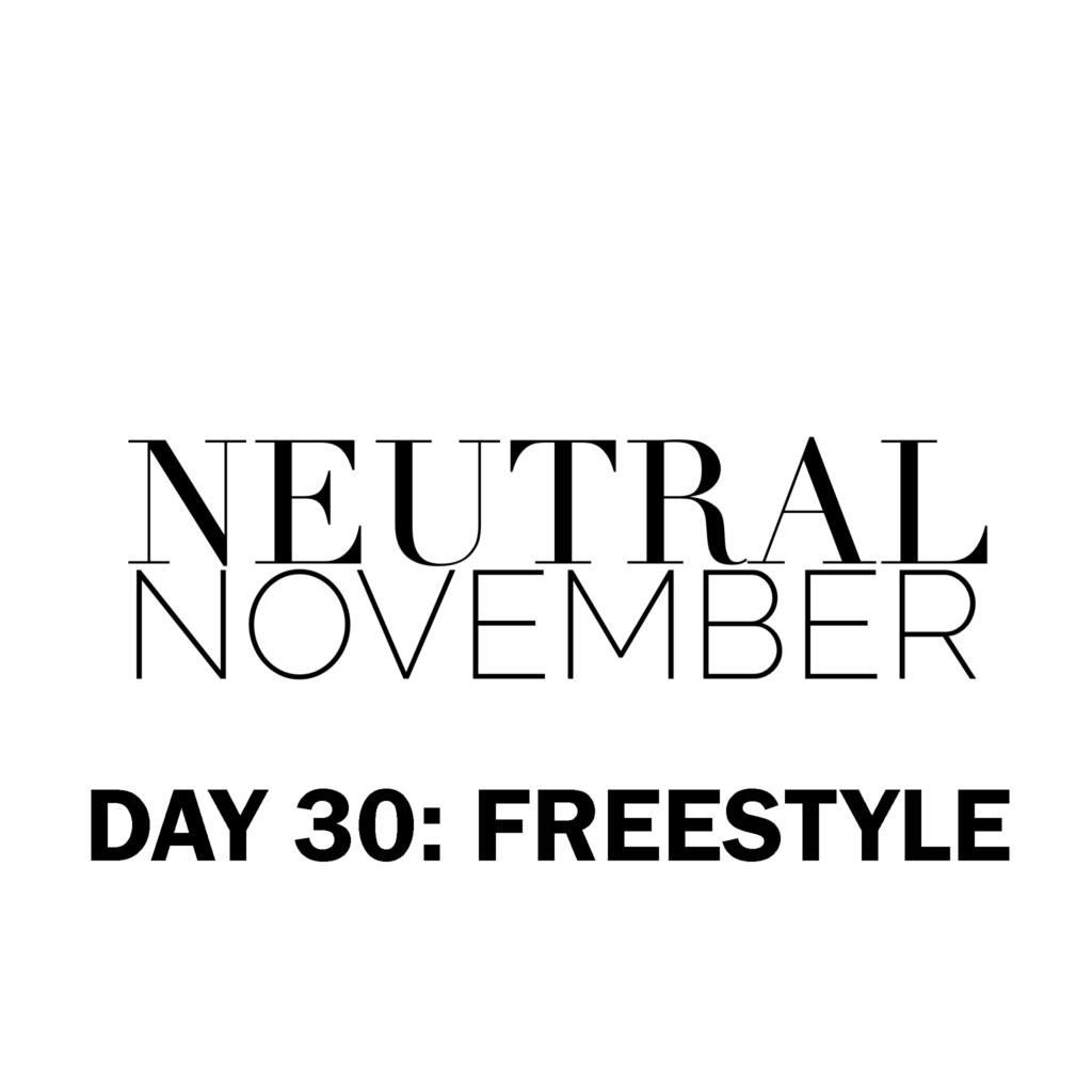 neutralNovemberDay30