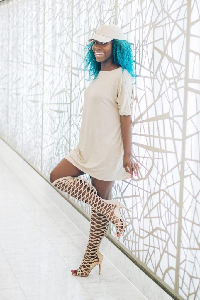 Neutral November Dannika Wardrobe beige outfit