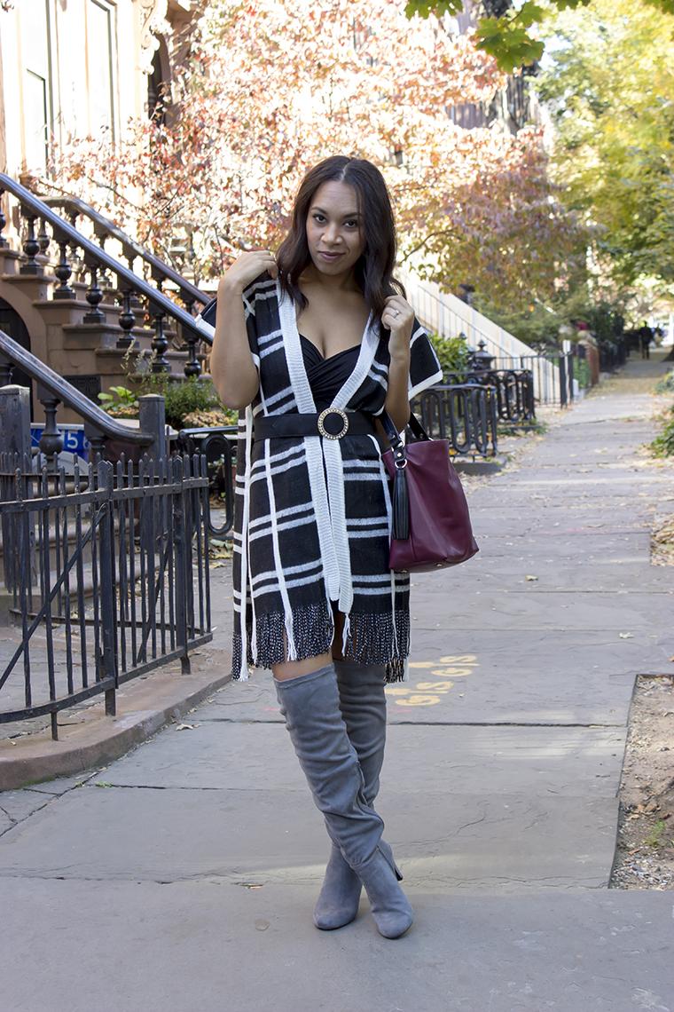Plaid dress Jessica Neutral November