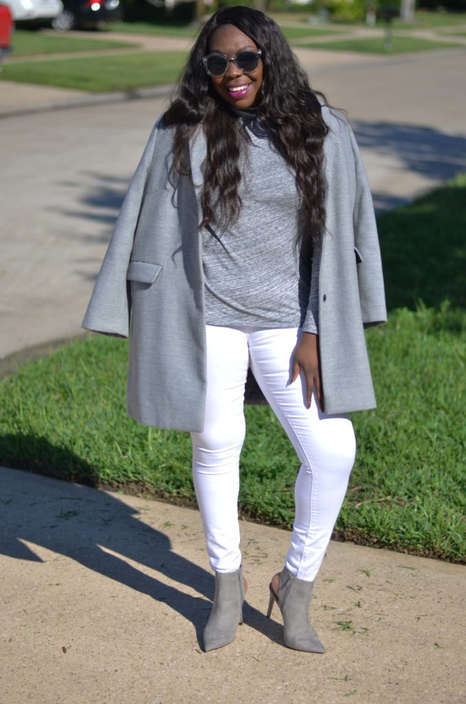 White and Grey Outfit Neutral November