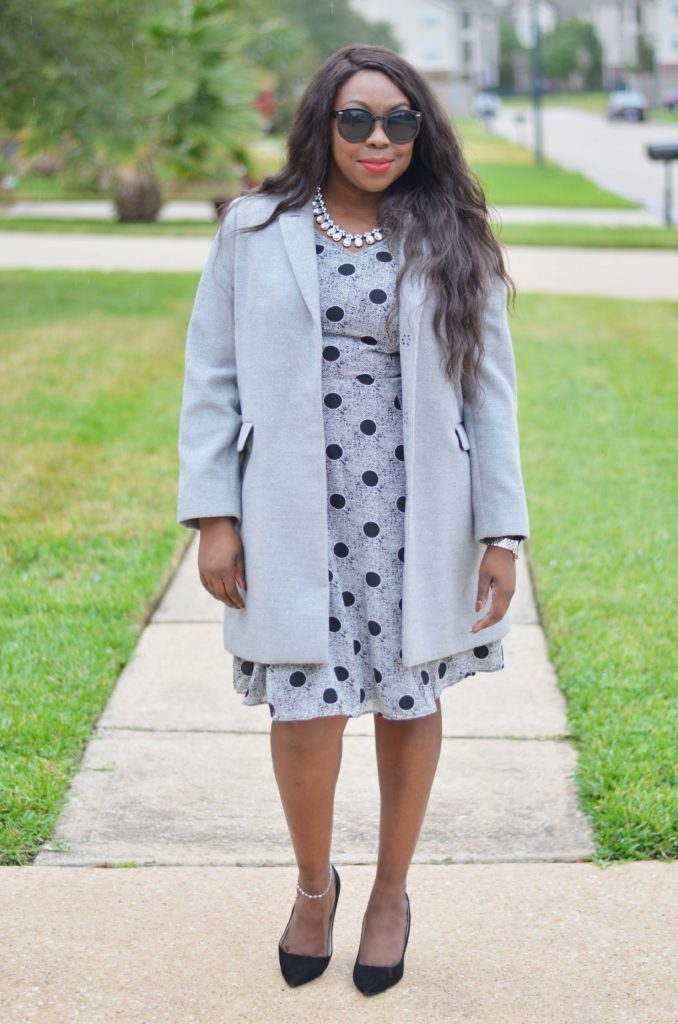 eShakti dress grey