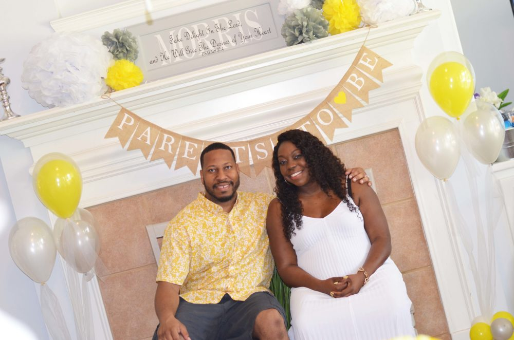 Parents To Be Yellow Co ed Baby Shower
